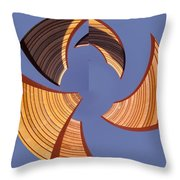 Reeds 1 Throw Pillow