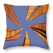 Reeds 2 Throw Pillow