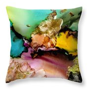 Reef 3 Throw Pillow