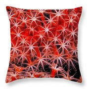 Reef Art - Octocoral Throw Pillow