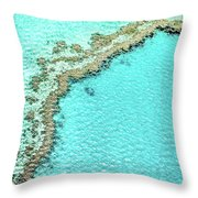 Reef Textures Throw Pillow