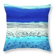 Reefs Edge Throw Pillow