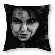 Reel Romance Throw Pillow