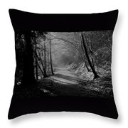Reelig Forest Walk Throw Pillow