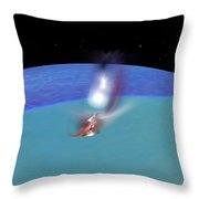 Reentry Throw Pillow