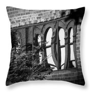Refections Of Old And New Throw Pillow