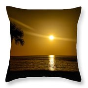 Reflect The Sun Throw Pillow