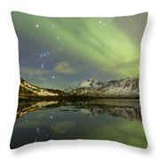 Reflected Orion Throw Pillow