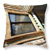 Reflecting Angles Throw Pillow