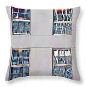 Reflecting Artwork Throw Pillow