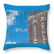 Reflecting Change Throw Pillow