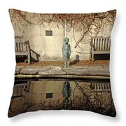 Reflecting Child Throw Pillow
