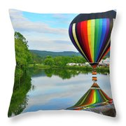 'reflecting' Throw Pillow