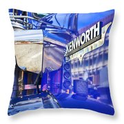Reflecting On A Kenworth Throw Pillow