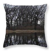 Reflecting On Burnidge Throw Pillow