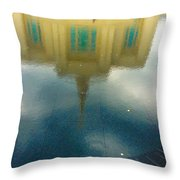 Reflecting On Eternity Throw Pillow