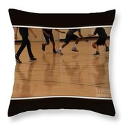 Reflecting On Game Throw Pillow