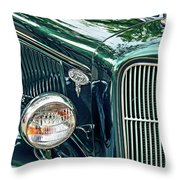 Reflecting On History Throw Pillow