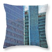 Reflecting On Reflections Throw Pillow