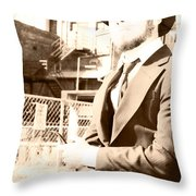 Reflecting On The Past Throw Pillow