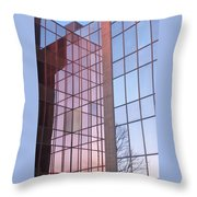 Reflecting Sundown Throw Pillow