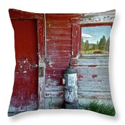 Reflecting The Landscape Throw Pillow