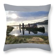 Reflecting With Mary Throw Pillow