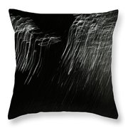 Reflection Abstract 421 Throw Pillow