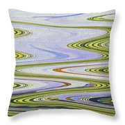Reflection Abstract Abstract Throw Pillow