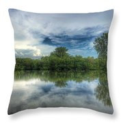 Reflection Bay Throw Pillow