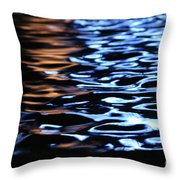Reflection In Fountain Throw Pillow
