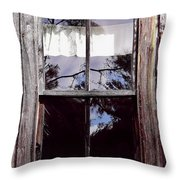 Reflection - In - The - Window  Throw Pillow