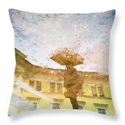 Reflection In Water Throw Pillow