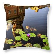 Reflection Of Tradition Throw Pillow