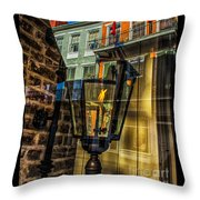 Reflection On Lamp Throw Pillow