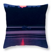 Reflection On The Bay Throw Pillow