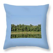 Reflection - On - The - Water Throw Pillow