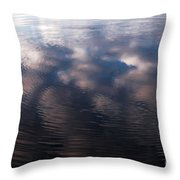 Reflection Ring Throw Pillow