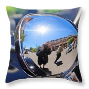 Reflection Selfie Throw Pillow
