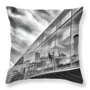 Reflections, Art Gallery Of Ontario, Toronto Throw Pillow