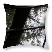Reflections Cubed Throw Pillow