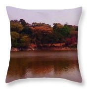 Reflections In A Lake Throw Pillow