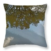 Reflections In A Lake - Poster Edges Throw Pillow