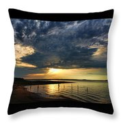 Reflections In Pools Throw Pillow