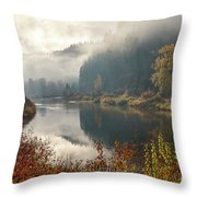 Reflections In The Joe Throw Pillow