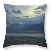 Reflections In The Surf Throw Pillow