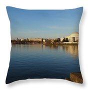 Reflections  Throw Pillow by Megan Cohen