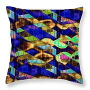Reflections Of A City 2 Throw Pillow