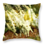 Reflections Of A Snow Throw Pillow