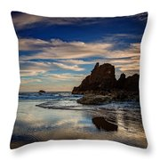 Reflections Of Arcadia Throw Pillow